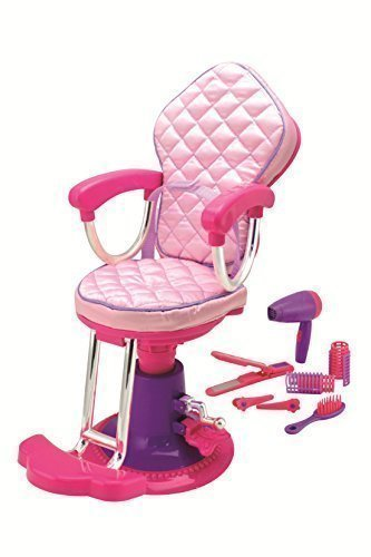 Click N Play Doll Salon Chair And Accessories Perfect For 18 Inch American Girl