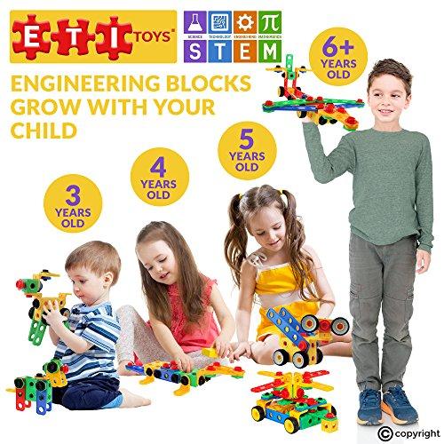 eti toys stem learning original  piece educational construction engineering building