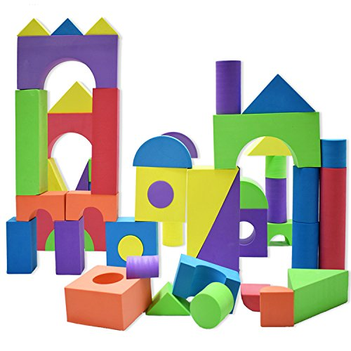 Giant Foam Building Blocks Building Toy For Girls And