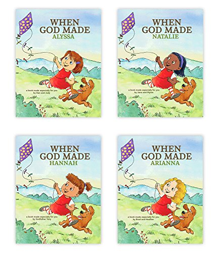 Hallmark Personalized Books: When God Made You (Girl ...