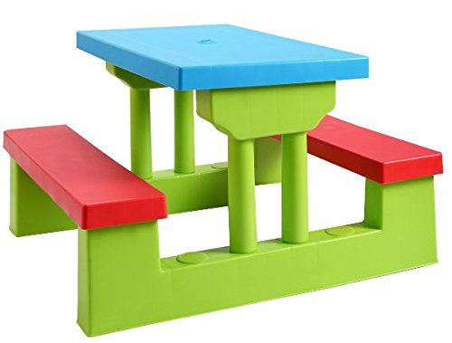 K Amp A Company Picnic Table Folding Kids Outdoor Bench