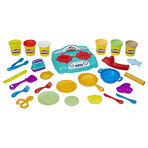 Play-Doh Kitchen Creations Stovetop Super Set With Sizzlin