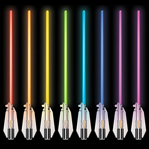 Star Wars Deluxe Lightsaber Room Light 8 Different Blade