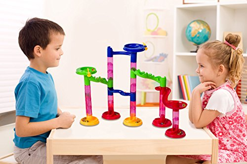 Super Tower Set Marble Run Stem Toy Large Set An