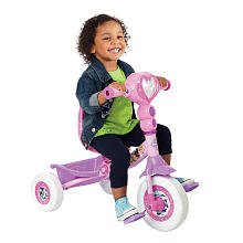 Huffy Lights And Sounds Folding Tricycle Disney Princess